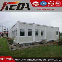 Fashionable luxury container living house prefab container villa 00351