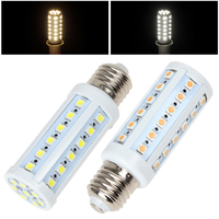 12W 1000LM E27 44 x 5050 SMD LED Light Warm White / White Corn Bulb Home Lamp