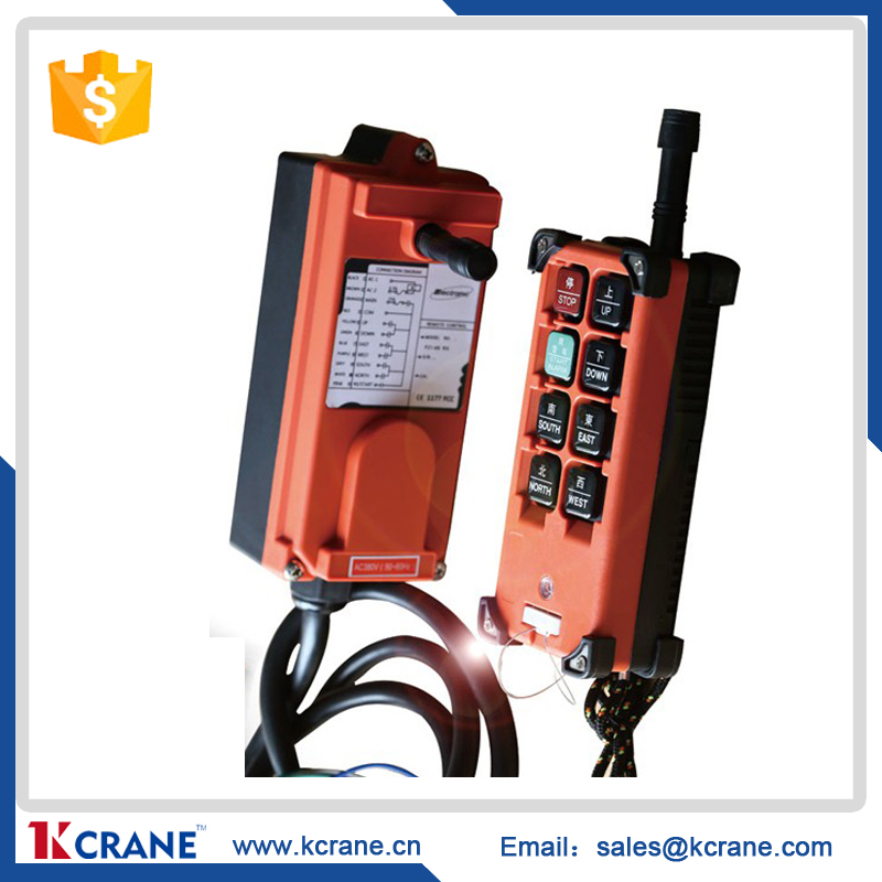 industrial wireless radio remote controller for crane F23/F24/F22 1 receiver+1 transmitter