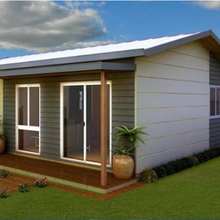 Hot sell modern convenient moving prefabricated home/ steel prefabricated villa