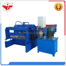 Cheap price glazed roof tile sheet making machine manufacturer