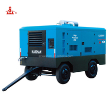 Diesel portable Screw Air Compressor for mining