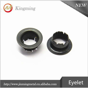 Fashion Metal Copper Blind Eyelet And Grommets for Shoes