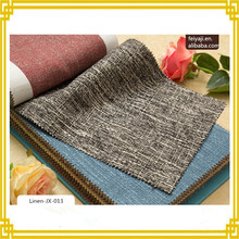 The Best Selling Solid Color Linen Curtain Fabric From China Factory