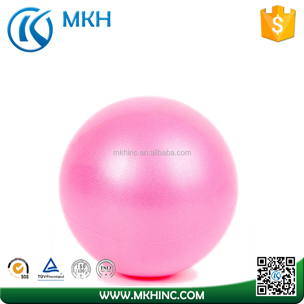 Gym mini anti-burst pilate ball for yoga training
