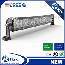 120W Cree LED Light Bar, Cree led bar for off road heavy duty, indoor, factory,suv military,agriculture,marine,mining work light