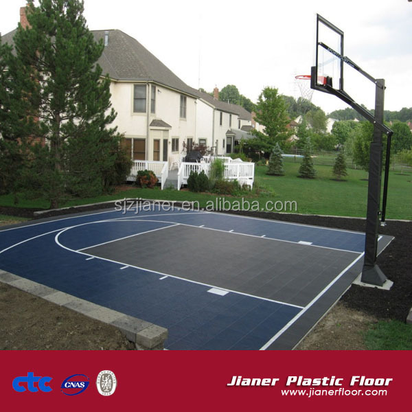 Indoor basketball courts backyard basketball courts for Indoor basketball court flooring cost