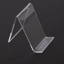 good quality cell phone accessories clear acrylic display stand manufacturer