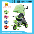 LUXURY HIGH CLASS BABY TRICYCLE BABY STROLLER NEW PRODUCTS 2017 BABY TRIKE WITH SEAT CAN BE ROTATED BABY CARRIERS