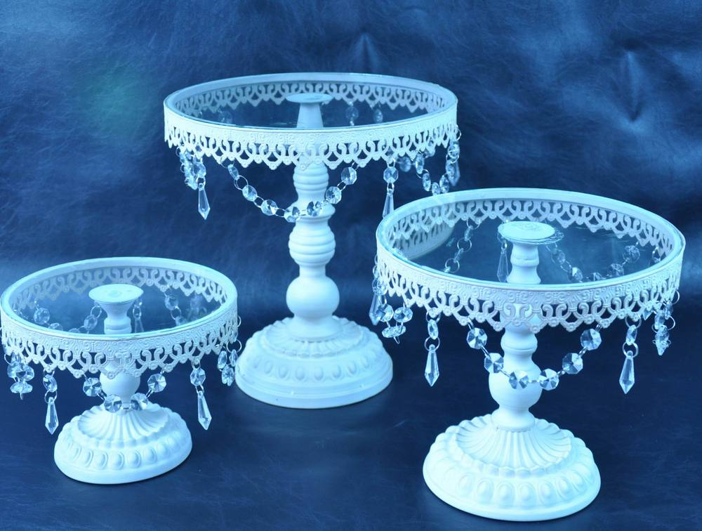 French Style Antique White Wedding Cake Stand Buy