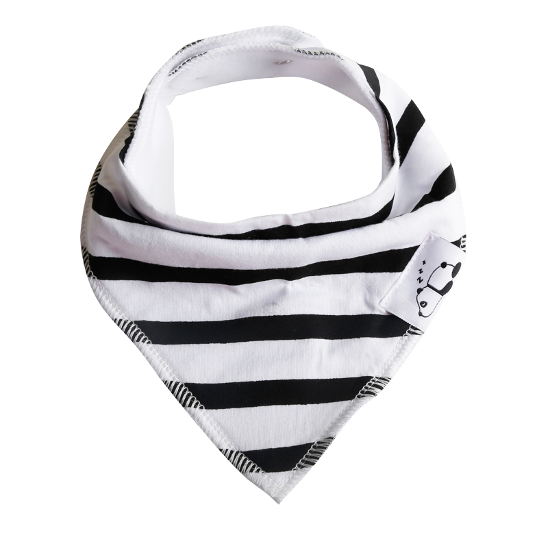 Amazon supply Factory wholesale teething disposable for restaurant baby bandana drool bibs
