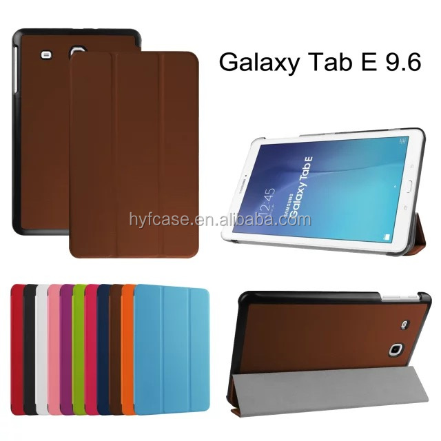 for Samsung Galaxy Tab E 9.6 tablet case with auto wake/sleep feature