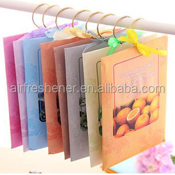 Scent Envelope Bags Filling Vermiculite Closet Air Freshener custom scents sachet