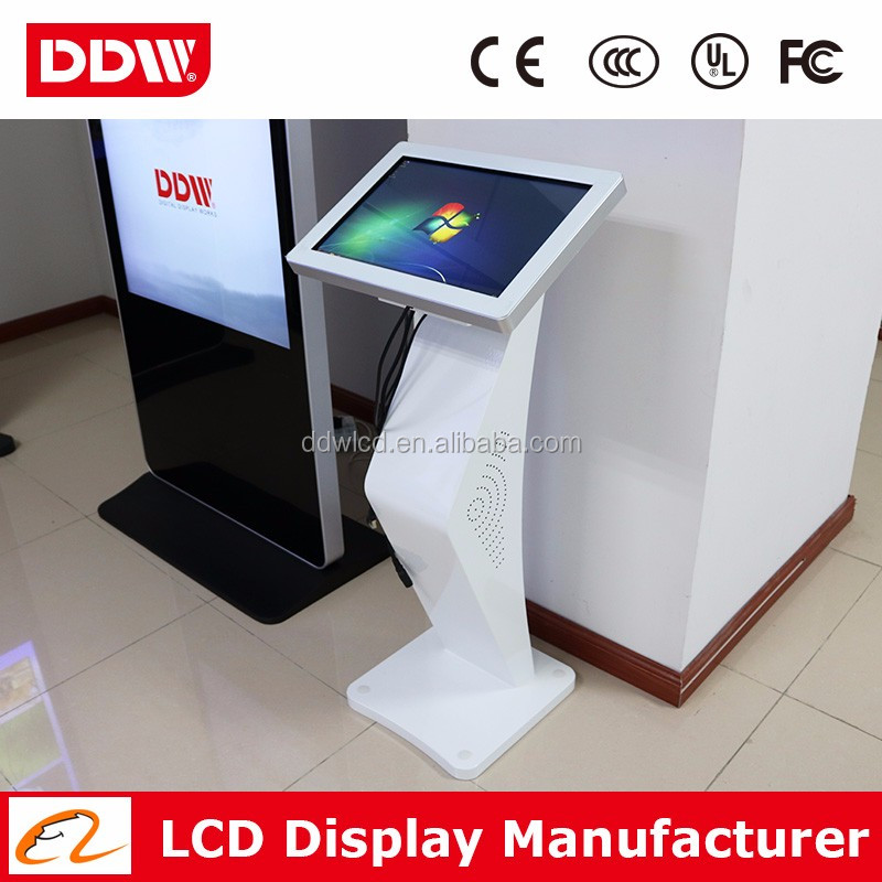 "Factory drop ship 47"" LED backlit shopping mall kiosk design ticket kiosk touch monitor DDW-AD4701TKPC"