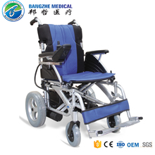 Portable aluminium power electric wheelchair parts with motor 12v