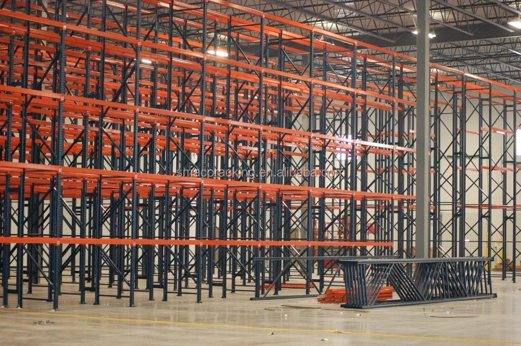 CE Certificate Automatic Inventory System Selective Pallet Shelving & Racking