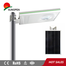 8w light source automatic control solar led street light system