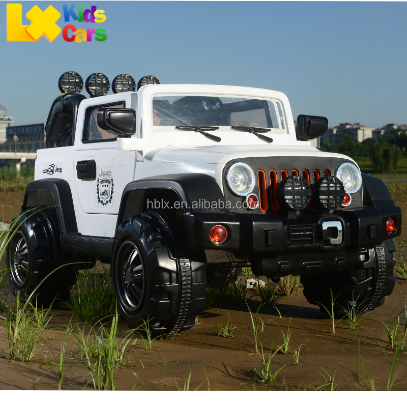 Plastic Kids Electric Jeep Ride On Big 12V SUV big Car