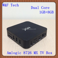 Google Android 4.2 WiFi TV Smart Box Dual Core MX Android Smart TV BOX