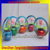 China wholesale mini solar power dancing flowers