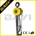 warehouse lifting tools 2 ton round shape chain block price