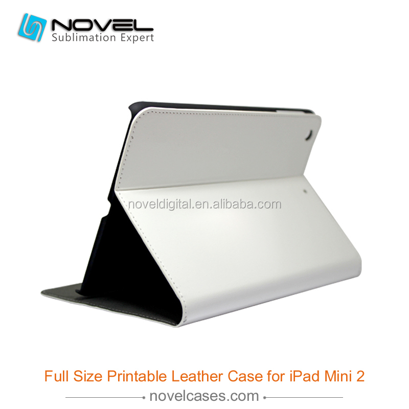 full size leather sublimation mobile phone case for ipad mini