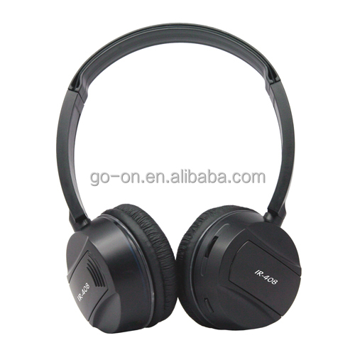 Portable Infrared wireless headphone headset stereo sound