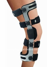 Orthopedic support knee brace/rom hinged knee brace with FDA and CE Certificate