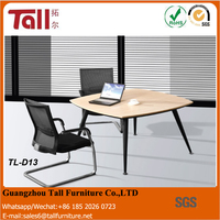 Commercial table office modern coffee desk set chairs