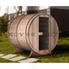 EU style outdoor barrel sauna room traditional sauna wholesale 02-S1