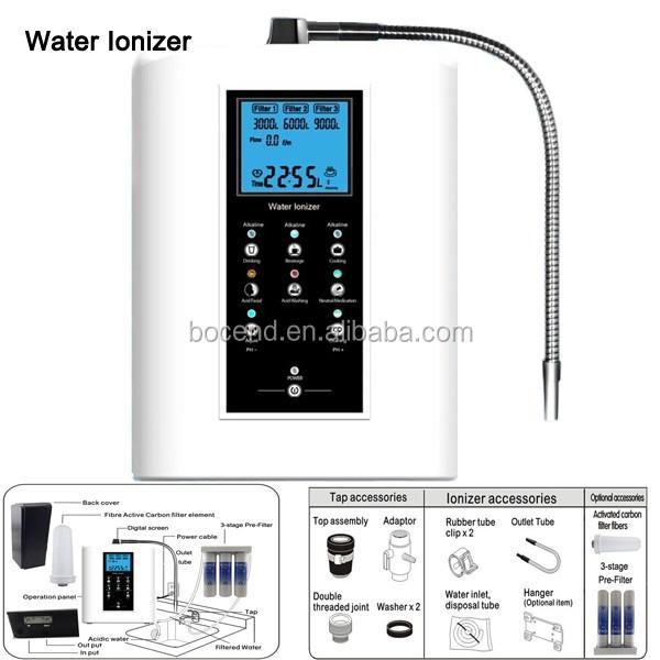 alkaline water filter machine