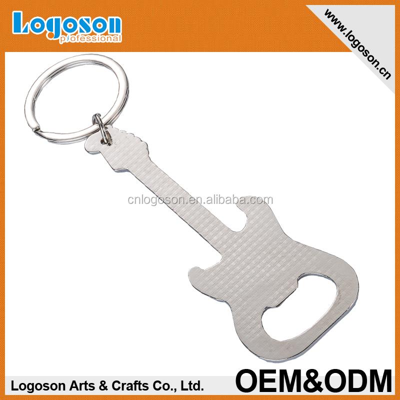 custom logo bud light mini guitar shape opener keychain buy keychain opener. Black Bedroom Furniture Sets. Home Design Ideas