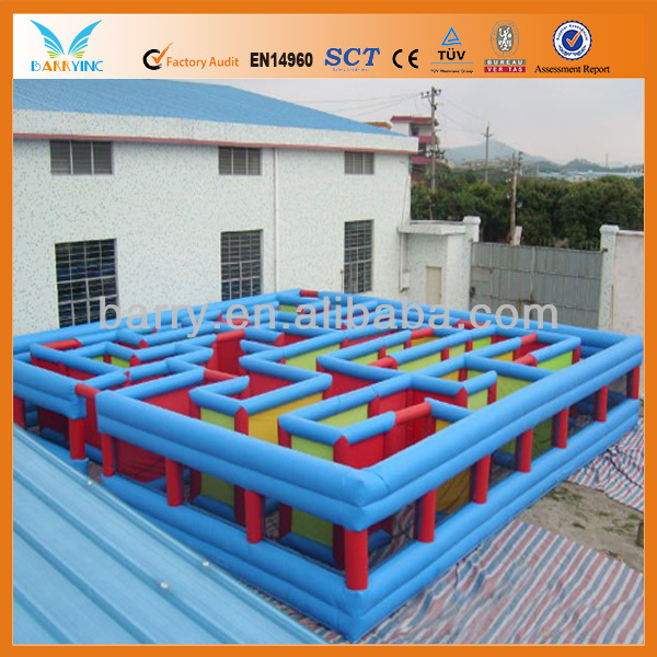 New Design Inflatable Maze obstacles, Laser tag inflatable maze arena sports games