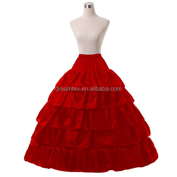 Wholesale skirt support four steel ring five lotus leaf diameter skirt placed wedding dress manufacturers direct   petticoat