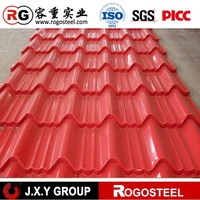 prime heat resistant corrugated lowes sheet metal roofing sheet price
