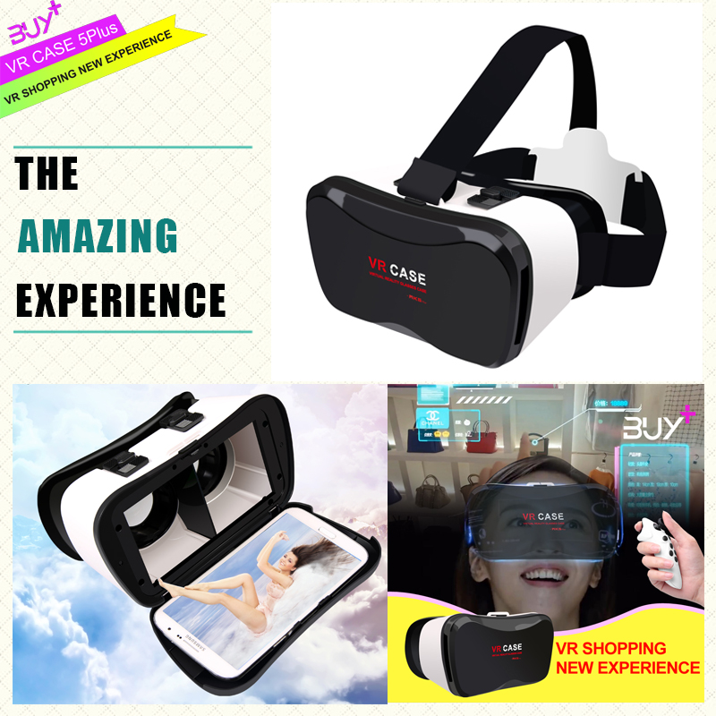 Brand new design 100 degrees view angle 3D VR BOX fits for 4.0~6.3 inch mobile phone VR CASE