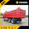 Price For HOWO Used 336HP Container Tipper Trucks For Sale