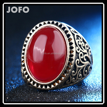 European Style Transparent Hig Quality Resin Imitate Emerald Ring For Women 3 Colors