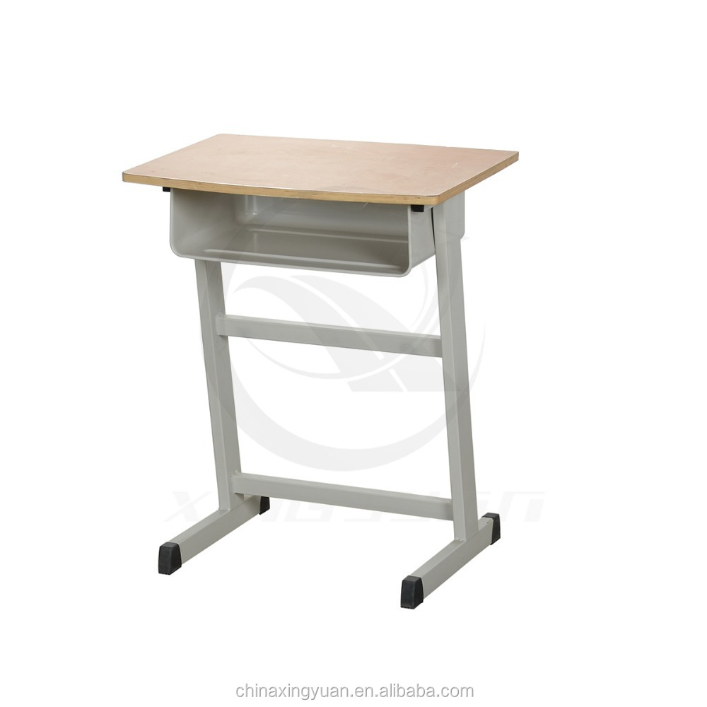 Simple used classroom single study student desk table for Table student