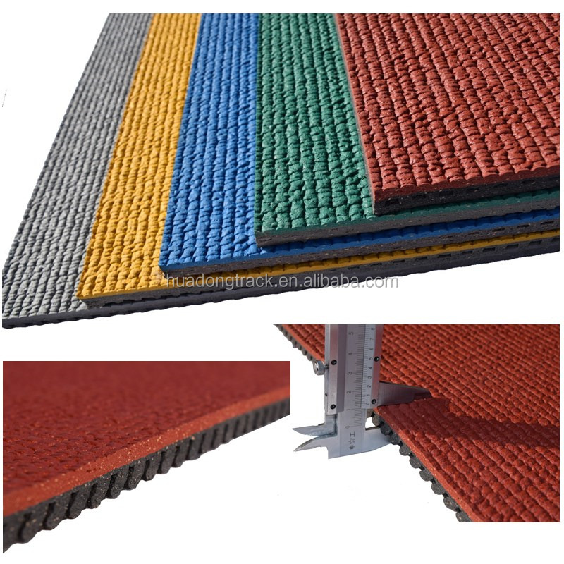 athletic track sport stadium flooring, rubber track and field, iaaf running track mat