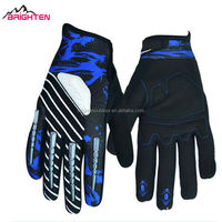 2014 New Fashion cool blue thin five finger cycling sport gloves