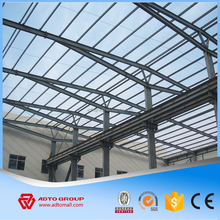 Factory Price Pre-engineered Light Steel Frame Structure Design, Prefabricated Gas Station with High Quality