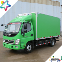 ColdKing 4.3m reefer truck body with Foton Ollin chassis loading capacity 1.5T - 4.5T refrigerated trucks