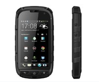 4inch TFT IPS Rugged IP68 mobile phone waterproof Android 4.2 MTK6589T Bluetooth GPS Android phone 3G android phone SOS outdoors