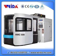 HMC500 double positions cnc horizontal machining center for sale