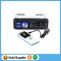 1 Din WMA Car Radio Bluetooth MP3 Player Stereo Audio In-Dash FM AUX Input Receiver With SD USB Remote Control Player