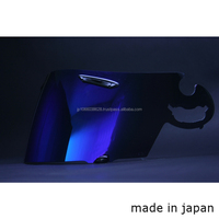 Japanese high quality mirror visor for motorcycle safety helmet price