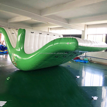 China supplier inflatable water park games adult seesaw seat ,inflatable seesaw slide for kids