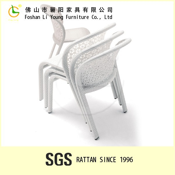 Hot sale High quality Classic Modern Outdoor Garden PE Rattan cheap dining room chair