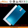 DLC 2x2ft 600x600mm LED ceiling panel light with Microwave Motion Sensor